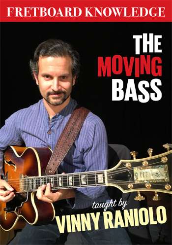 Vinny Raniolo lesson: The Moving Bass